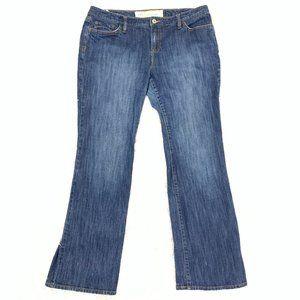 Loft Curvy Boot Cut High Rise Jeans 14